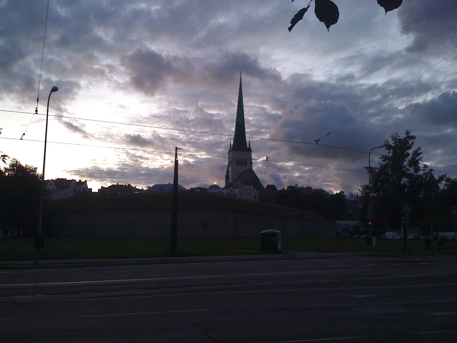 таллиннский закат