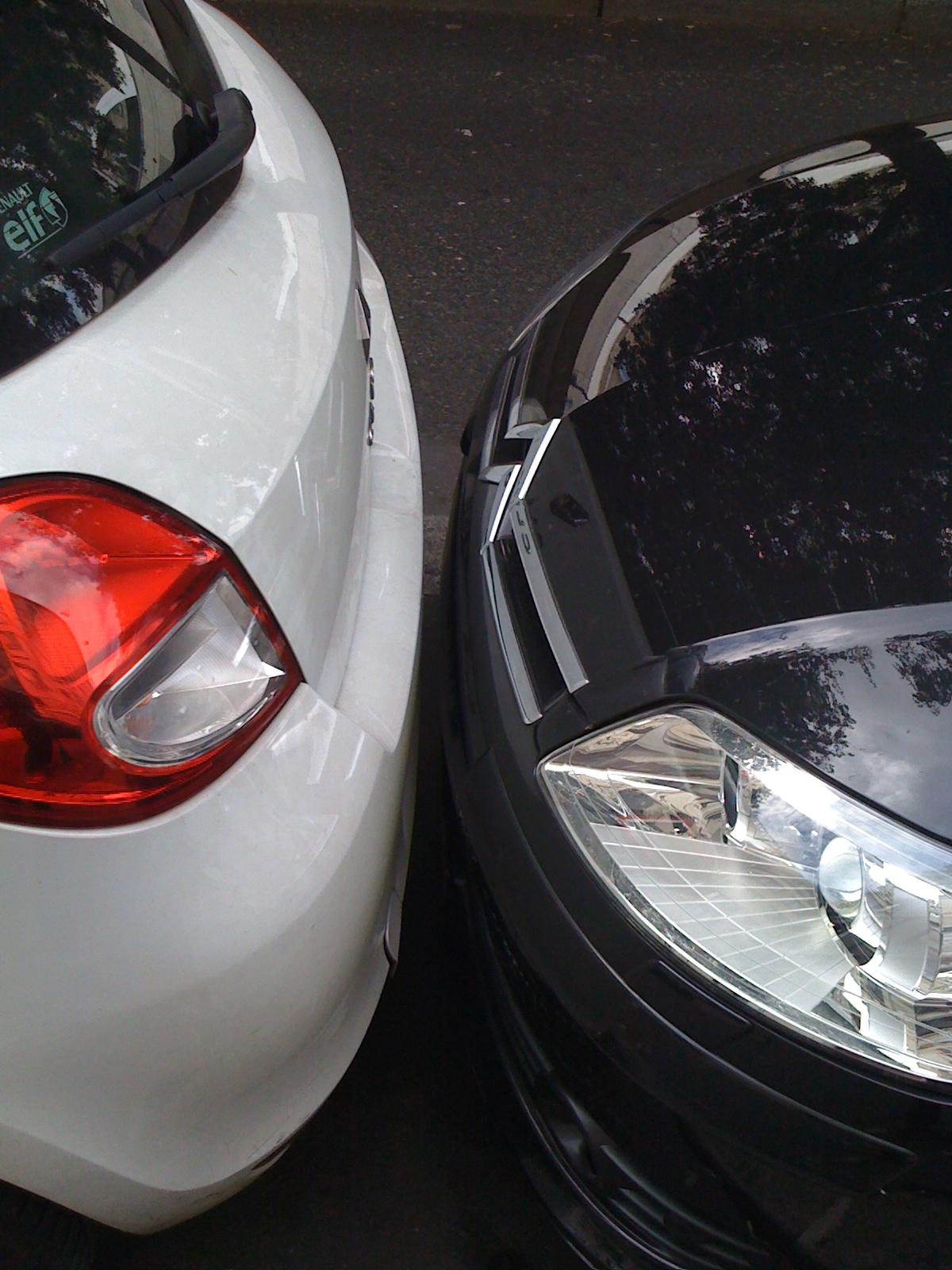 парковка по-парижски