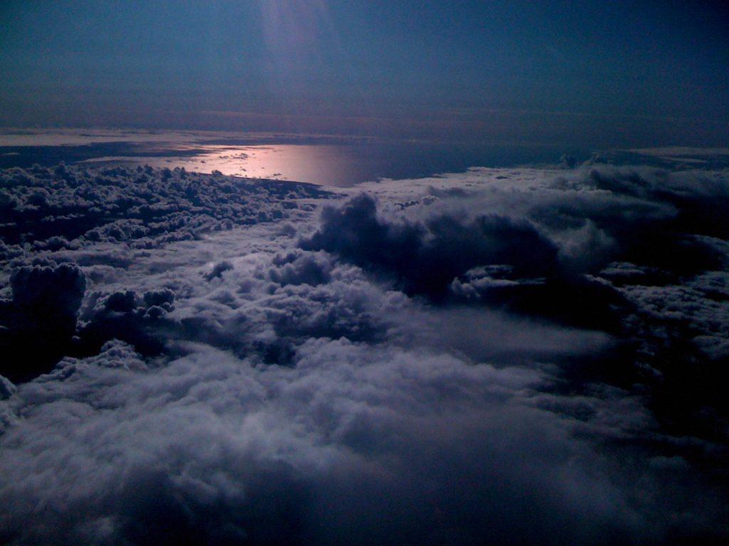 балтийское море на закате