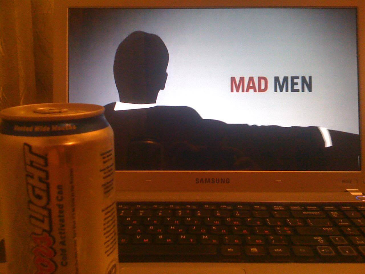 coors lite and madmen
